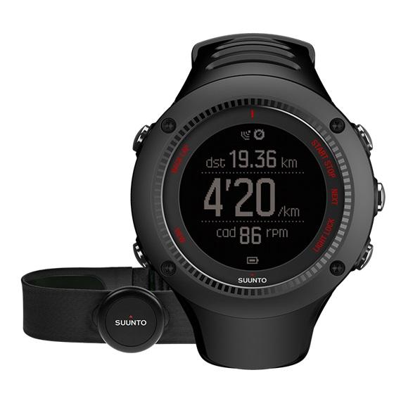 Suunto Ambit3 Run GPS Sports Watch HR SS021257000 (Black)