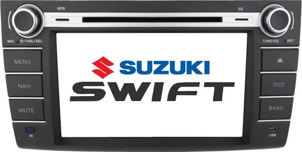 "SUZUKI SWIFT 2004 - 2012 DLAA 8"" Full HD Double Din GPS DVD TV Player"