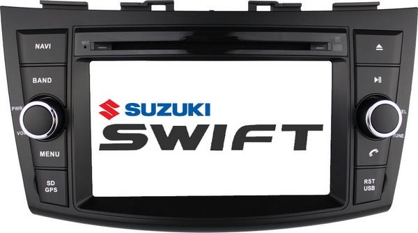 "SUZUKI SWIFT 2013-17 DLAA 8"" Full HD Double Din GPS DVD USB TV Player"