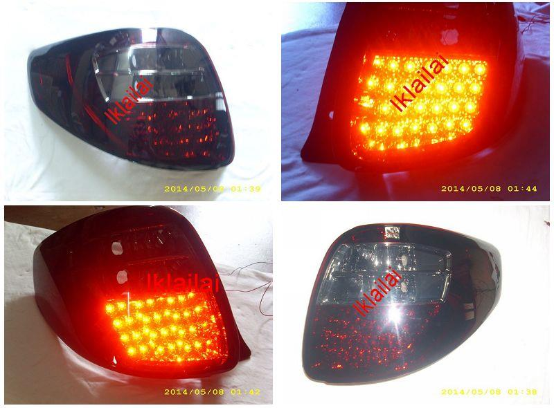 Suzuki SX4 Tail Lamp Crystal LED Red/Smoke