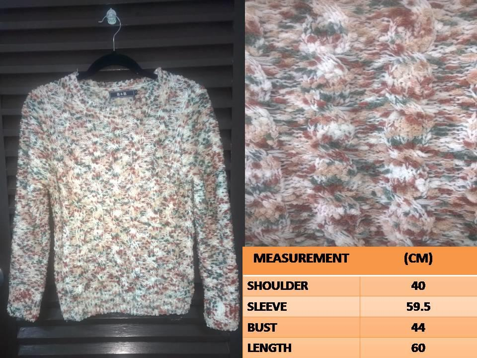 Sweater Tops Blouse Korean Style Musky Sweater