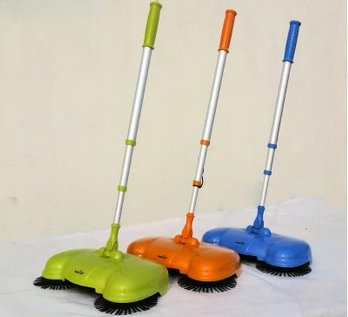 Sweeper Broom Vacuum Cleaner Without Electricity