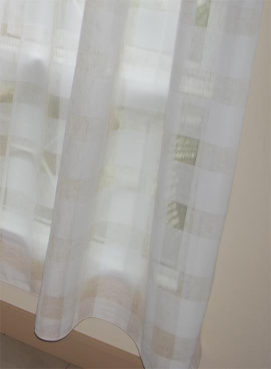 Sweet PV White lace curtains 12 ft FP
