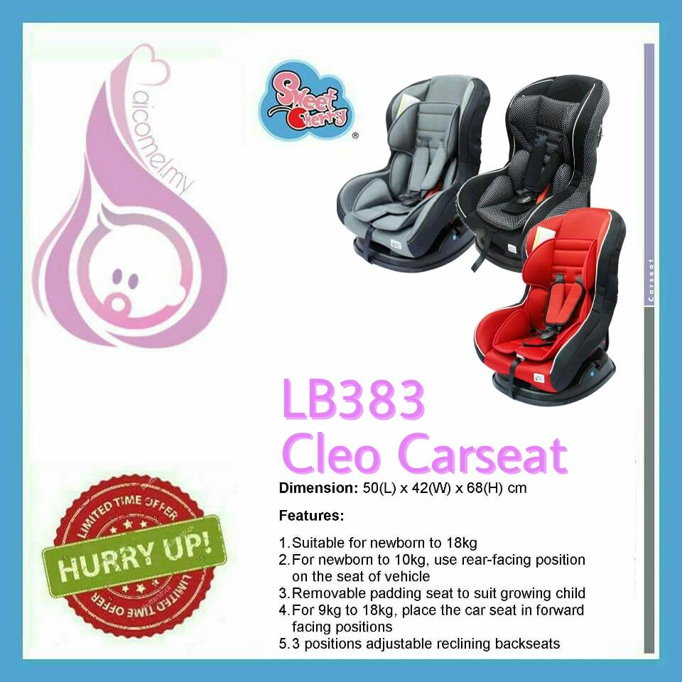 SWEETCHERRY CLEO COMBINATION CARSEAT (LB383) [FREE SHIPPING SM]