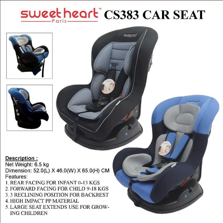 SWEETHEART PARIS COMBINATION CARSEAT (CS383) [FREE SHIPPING SM]