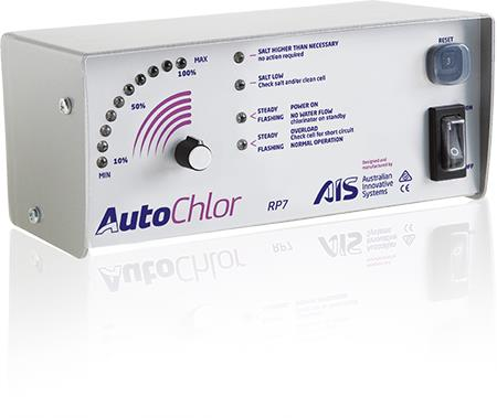 Swimming Pool AIS Auto Chlor - Salt Water Chlorination [Self Cleaning]