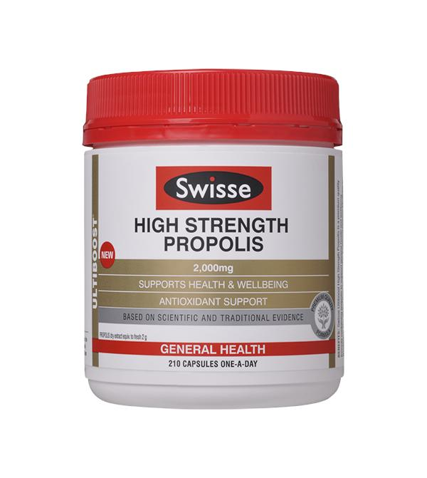 Swisse High Strength Propolis 【210 Caps】【Made In ..