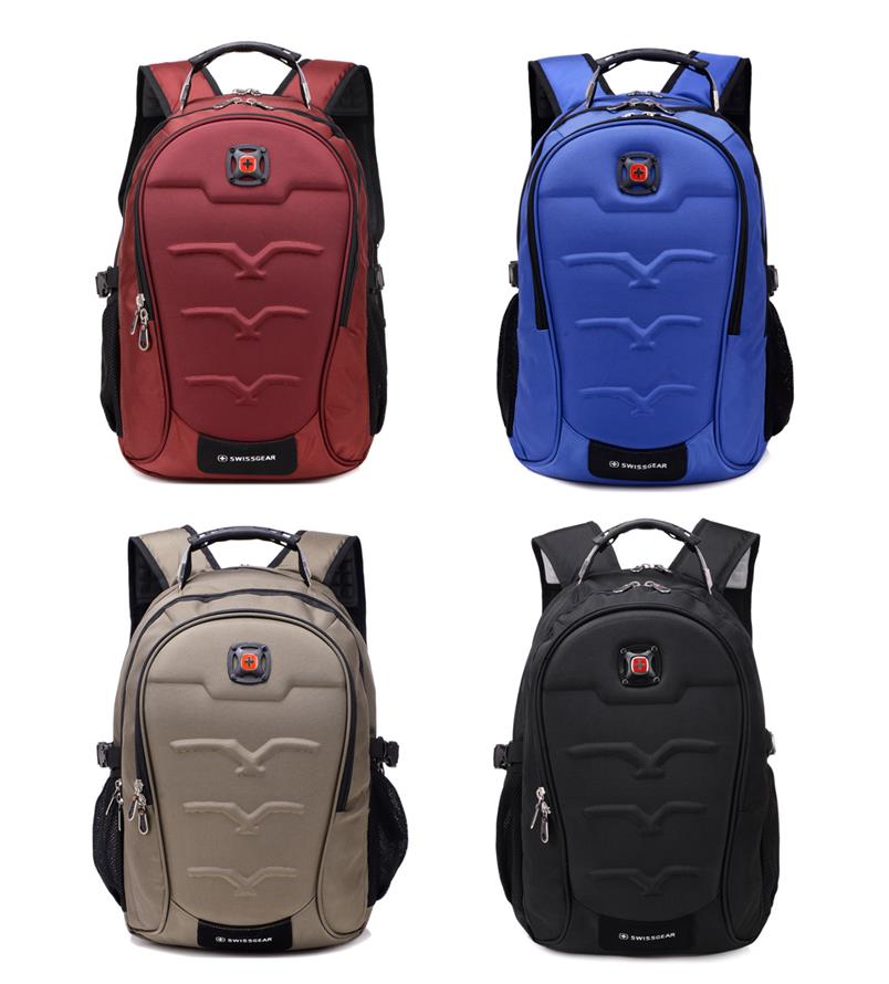 SWISSGEAR Deluxe Laptop Backpack Large Compartment Travel Backpack