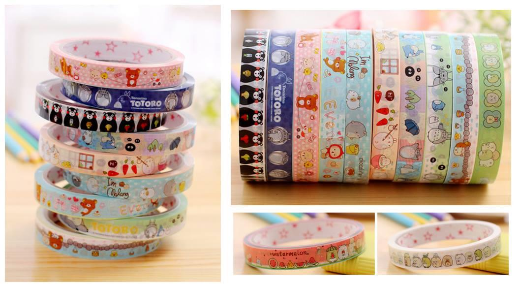 SY0098 CUTIE CARTOON DECO TAPE