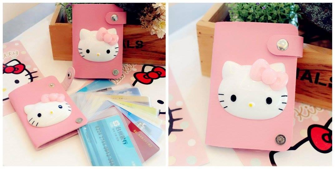 SY0192 PINKY HELLO KITTY CARD HOLDER CASE