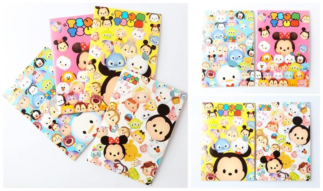 SY0255 ICONIC TSUM TSUM NOTE BOOK