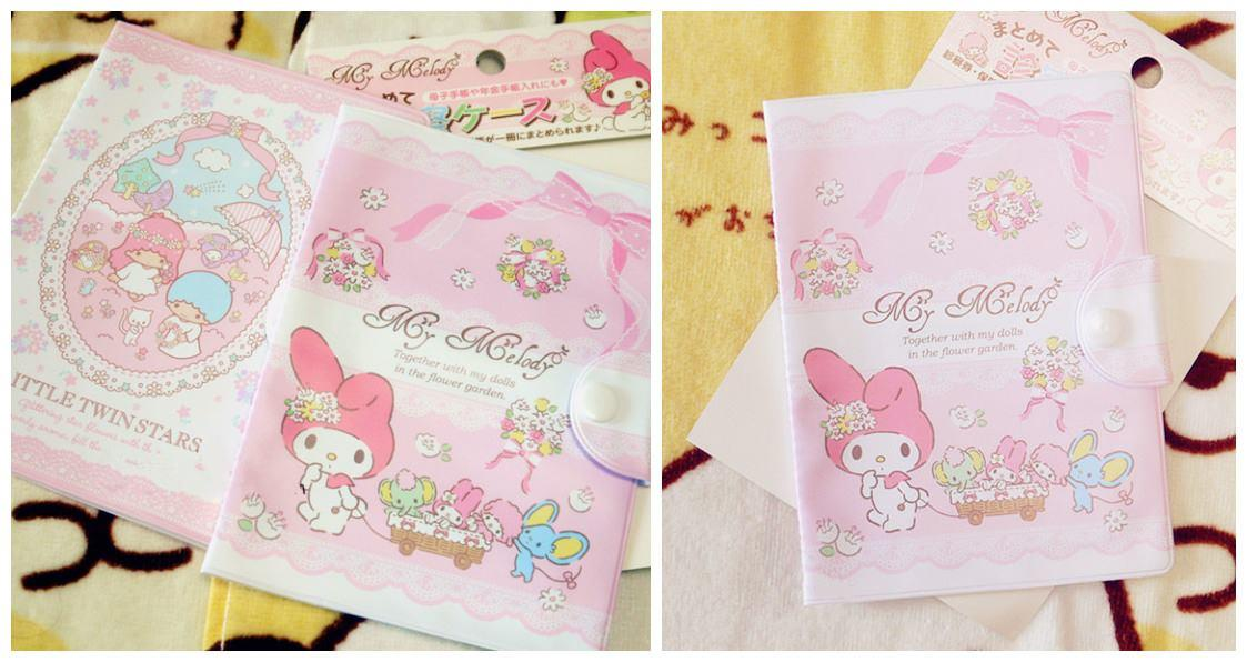 SY0343 MY MELODY PASTEL PASSPORT HOLDER