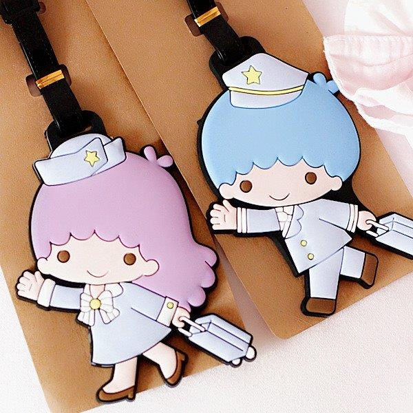 SY0345 TWIN STAR LUGGAGE TAG