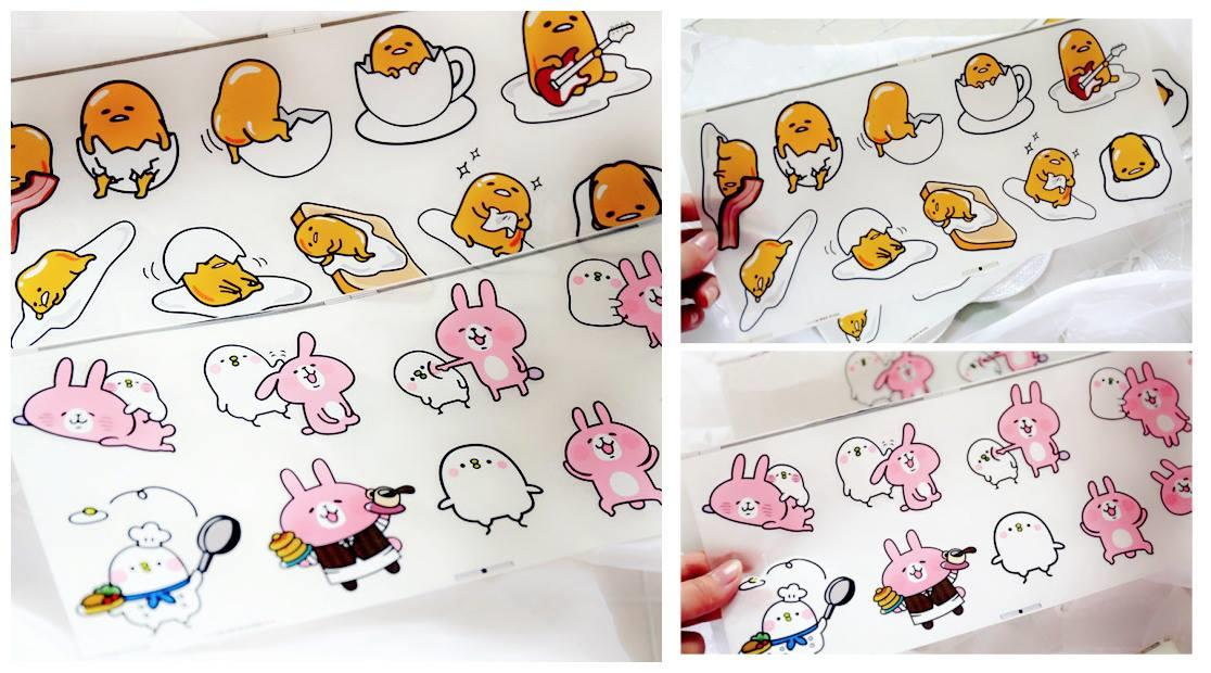 SY0384 ICONIC CARTOON STICKER