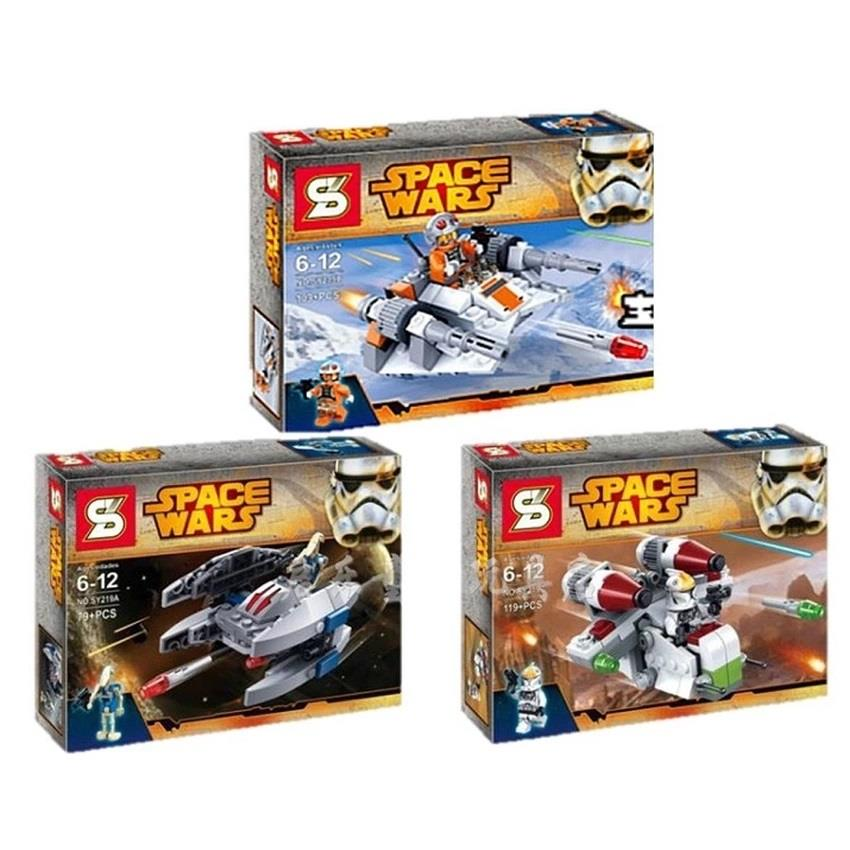 SY219 Space Wars LEGO Compatible Bricks (3 in 1)