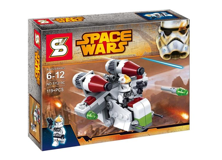 SY219 Star Wars Battle Troops 2nd Release 3 in 1 Free Shipping
