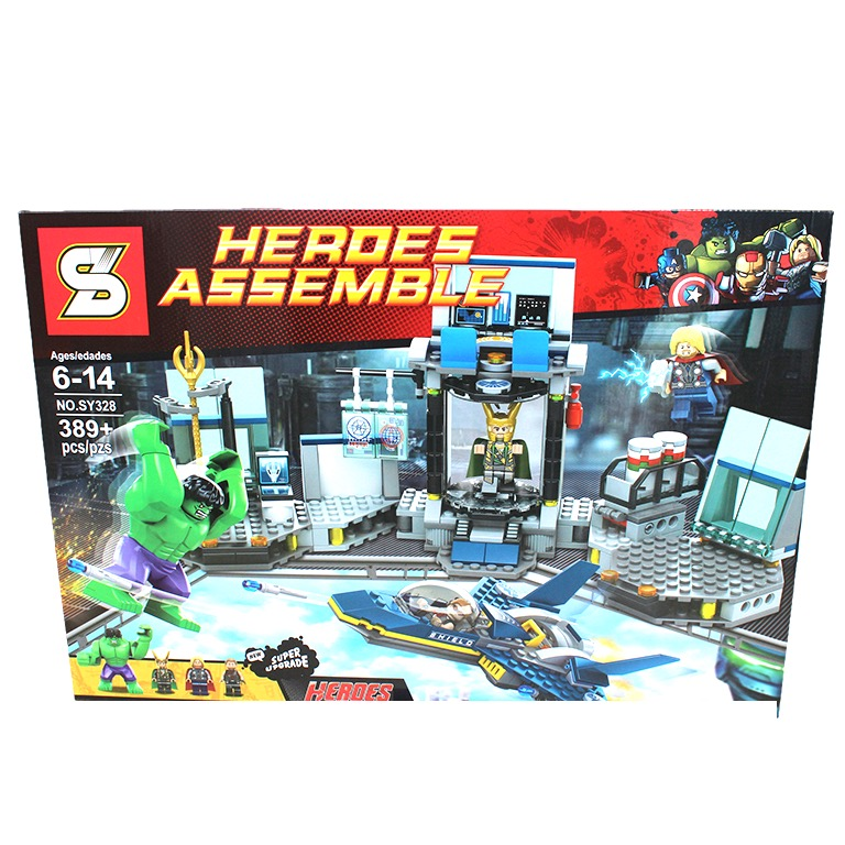 SY328 Super Heroes Spaceship Counterattack (389pcs)