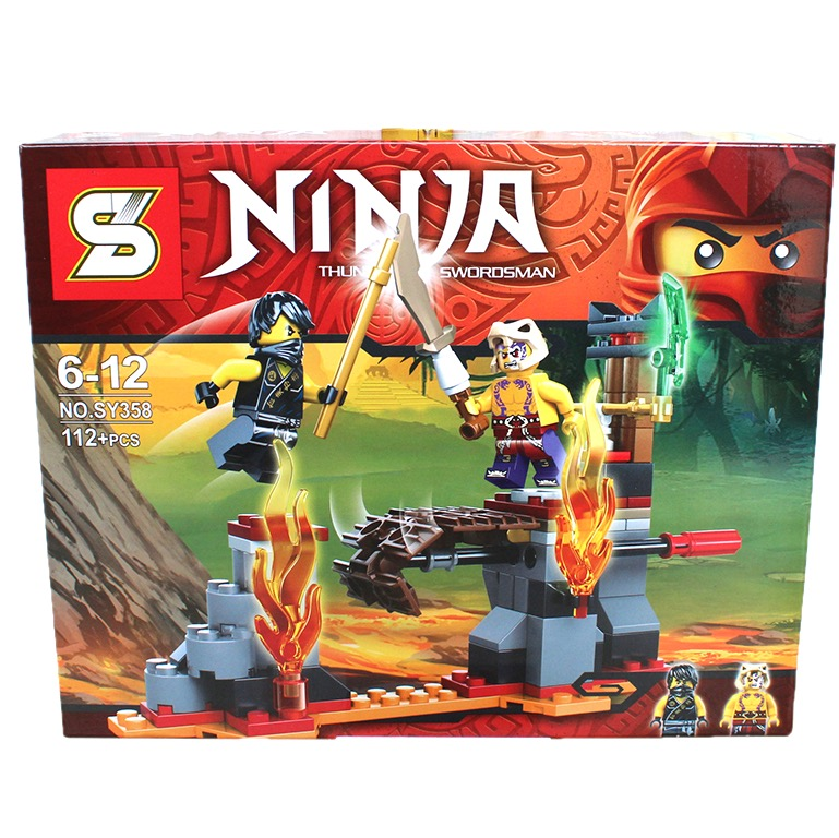 SY358 Ninjago Battle Lava Valley (112pcs)