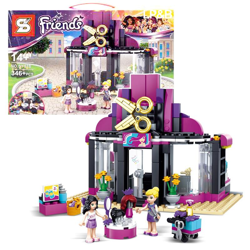 SY378 Friends Series Heartlake Hair Salon Building Block Bricks Lego