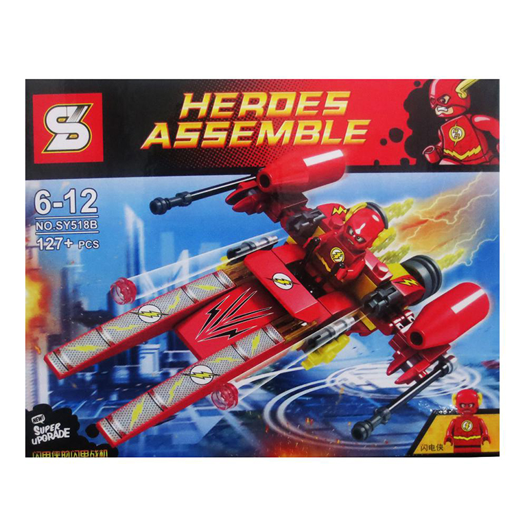 SY518B Super Heroes The Flash (127pcs)