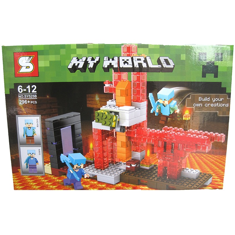 SY525B Minecraft (296pcs)