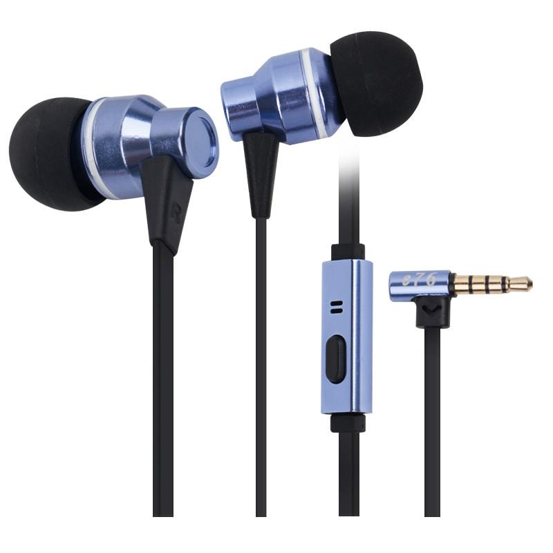Syllable E76 In-ear Earphone 3D Stereo Sound for iPhone/Xiaomi/MP3/MP4
