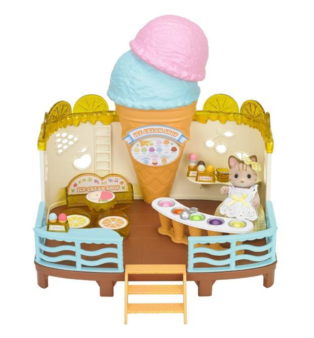Sylvanian Families - Ice Cream Shop (Without Wall)