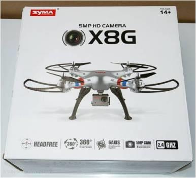 Syma X8G X8-G RC Quadcopter with 5MP 1080P HD Sports Camera RTF
