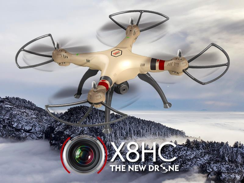 Syma X8HC With HD Camera 6Axis Altitude Hold Headless Mode Rc Drone