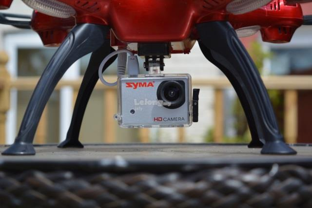 Syma X8HG With HD Camera High Hold Mode 2.4G 4CH 6Axis