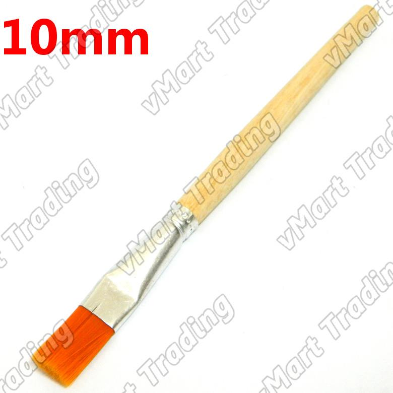 Synthetic Bristle Brush 10mm