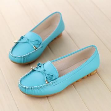 T007863 Sweet Bow Fashion Casual Flat Stylish Shoes