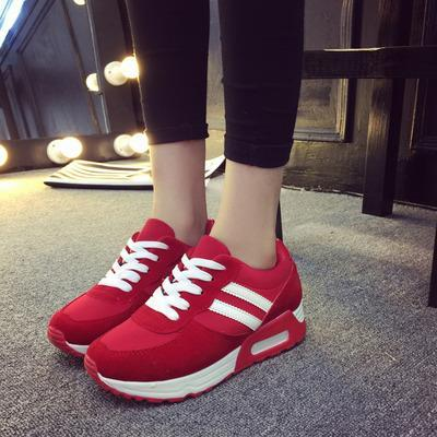 T008019 Casual Lace Students Running Round Head Canvas Stylish Shoes