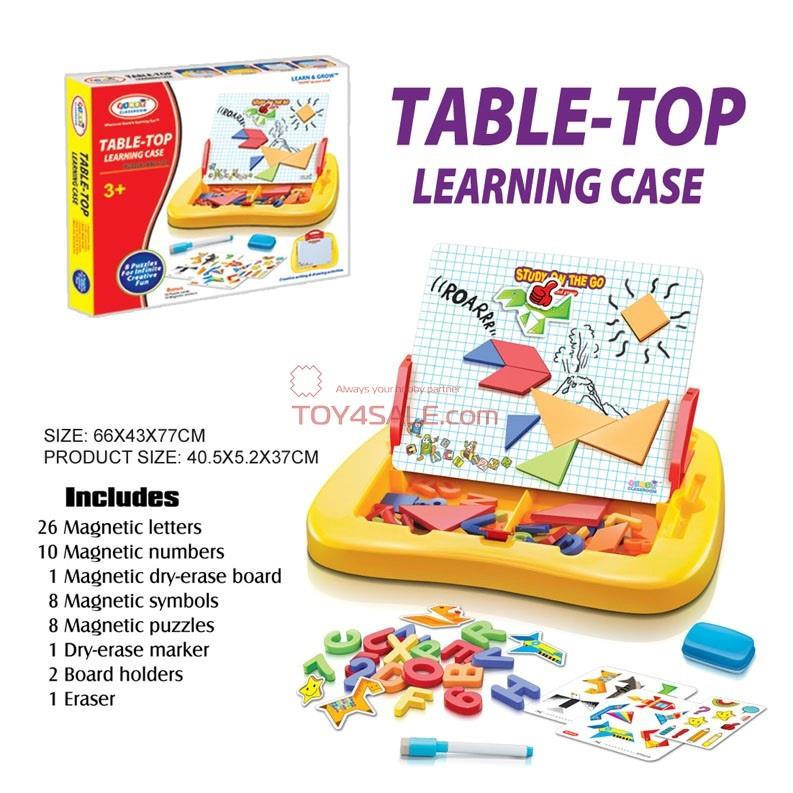 Table Top Toys For Preschoolers : Kids preschool alphabets puzzle numbers educational toy
