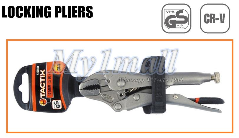 "TACTIX 200553 PLIER LOCKING 7""/175MM"