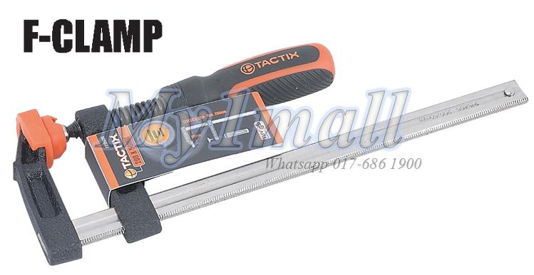 TACTIX 215413 F CLAMP 200X80MM