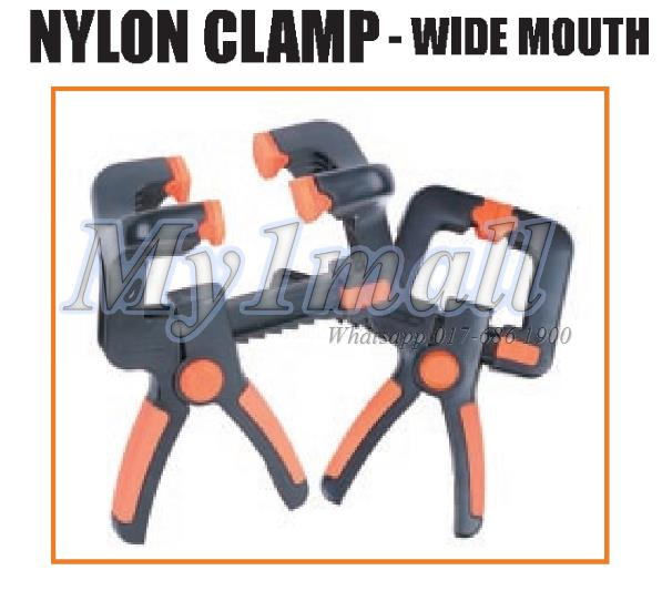 TACTIX 215723 CLAMP WIDE MOUTH 100MM/4