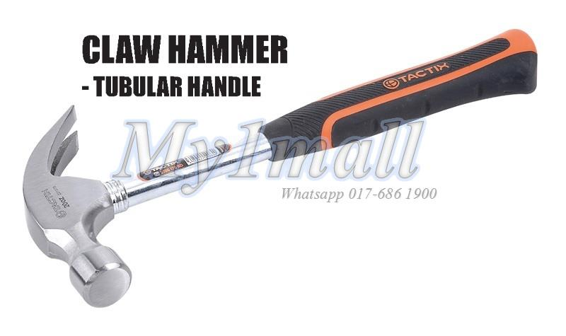 TACTIX 221075 HAMMER CLAW 570G(20OZ) TUBULAR