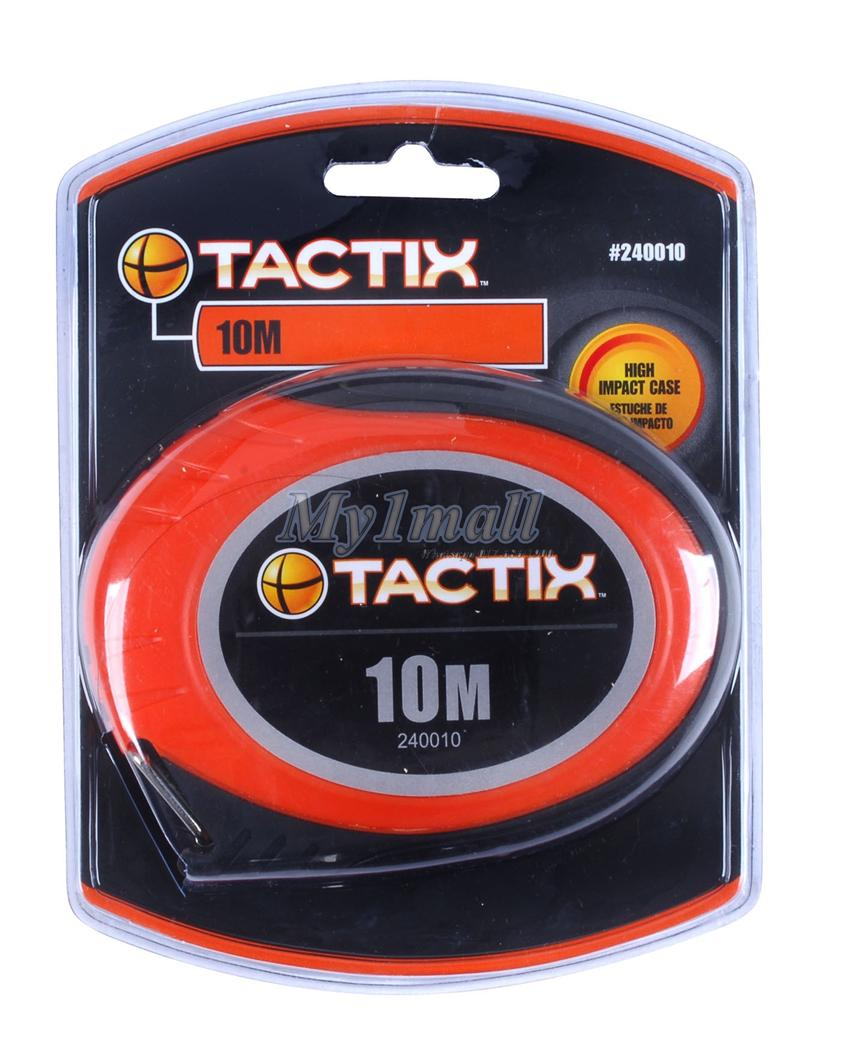 TACTIX 240530 LONG TAPE MEASURE  30M/100'X10MM 3:1 GEAR