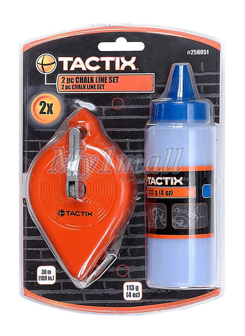 TACTIX 258051 CHALK LINE 2PC SET