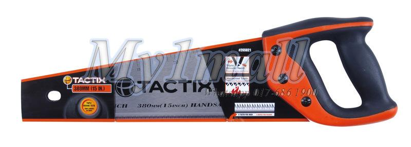 "TACTIX 265021 SAW HAND 380MM/15"" POLISH"