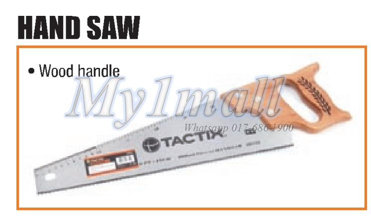 "TACTIX 265125 HAND SAW 500MM/20"" POLISH"