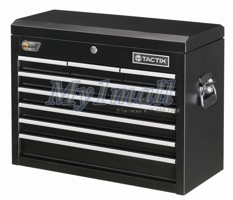 TACTIX 326000 8 DRAWER TOOL CHEST Tool Cabinet 66CM 26""