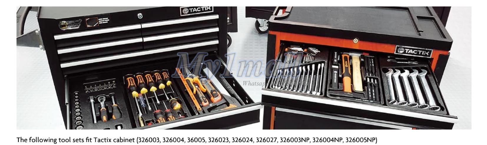 TACTIX 327501 4pcs Plier Cutter Tool Set