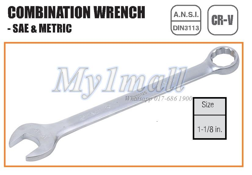 TACTIX 370131 WRENCH COMBINATION 1-1/8""