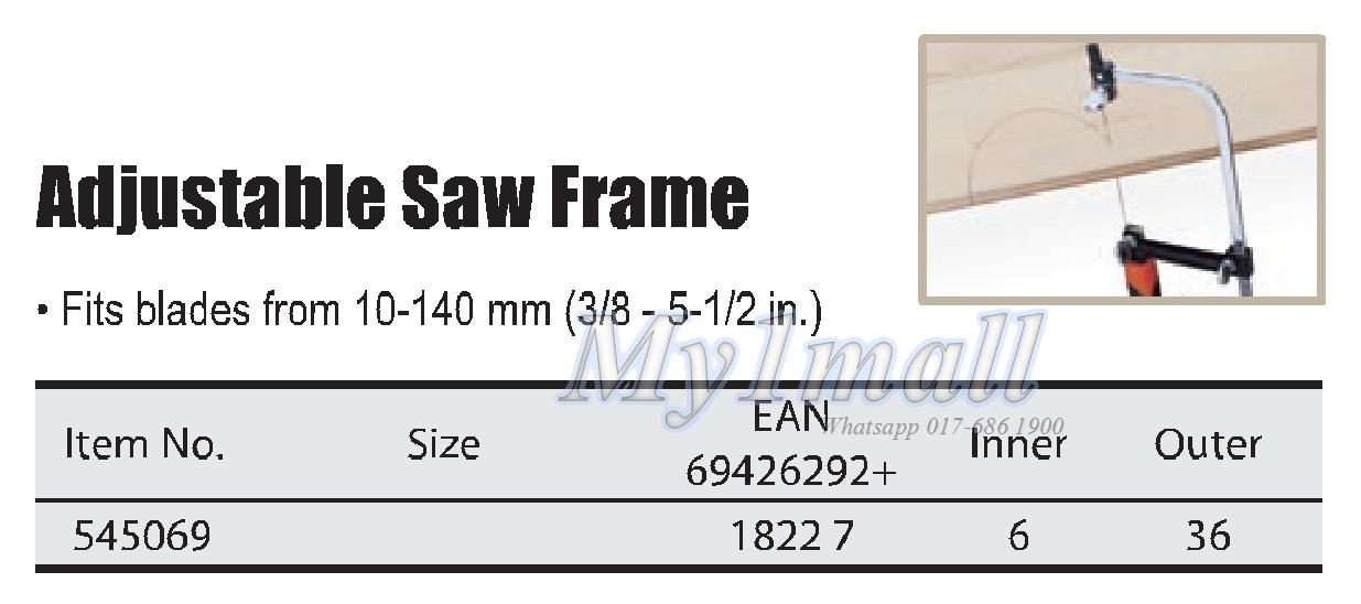 TACTIX 545069 ADJUSTABLE SAW FRAME