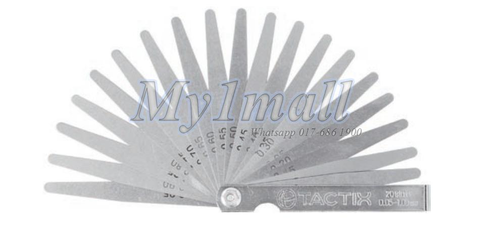 TACTIX 545165 20 LEAF TAPER GAUGE