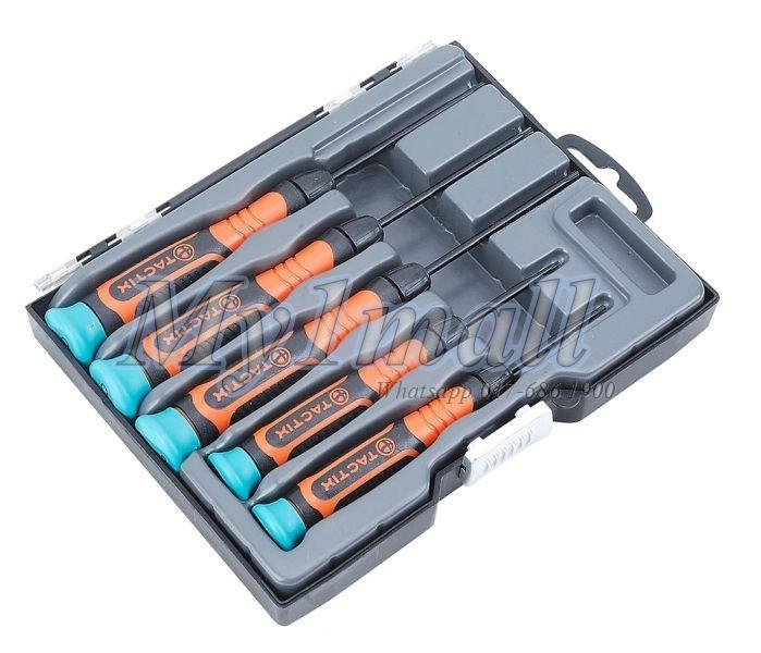 TACTIX 545229 5PC PRECISION SCREWDRIVER SET-