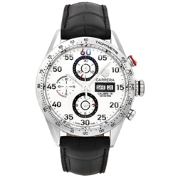 Tag Heuer Carrera Automatic Chronograph 43mm Mens Watch - CV2A11.FC6235