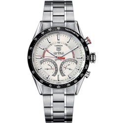Tag Heuer Carrera Calibre S Laptimer 43mm Mens Watch - CV7A11.BA0795